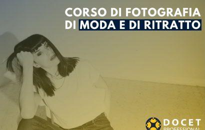 CORSO DI FOTOGRAFIA DI MODA E DI RITRATTO